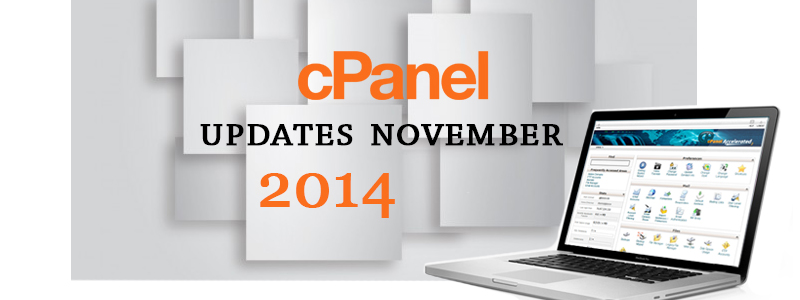 cPanel updates – November 2014