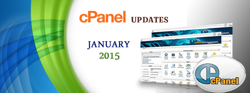 cPanel Updates – January 2015